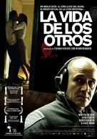 Das Leben der Anderen - Spanish Movie Poster (xs thumbnail)