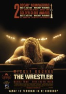 The Wrestler - Dutch Movie Poster (xs thumbnail)