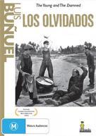 Los olvidados - Australian DVD cover (xs thumbnail)