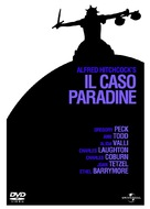 The Paradine Case - Italian DVD movie cover (xs thumbnail)