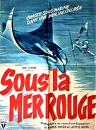 Abenteuer im Roten Meer - French Movie Poster (xs thumbnail)
