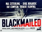 Blackmailed - British Movie Poster (xs thumbnail)