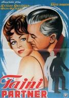 The Secret Partner - Yugoslav Movie Poster (xs thumbnail)
