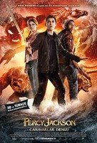 Percy Jackson: Sea of Monsters - Turkish Movie Poster (xs thumbnail)
