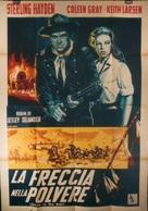Arrow in the Dust - Italian Movie Poster (xs thumbnail)
