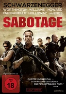 Sabotage - German DVD cover (xs thumbnail)