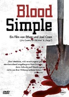 Blood Simple - German Movie Cover (xs thumbnail)
