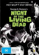 Night of the Living Dead - Australian DVD movie cover (xs thumbnail)