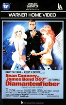 Diamonds Are Forever - German VHS movie cover (xs thumbnail)