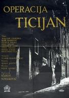 Operacija Ticijan - Yugoslav Movie Poster (xs thumbnail)