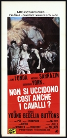 They Shoot Horses, Don't They? - Italian Movie Poster (xs thumbnail)