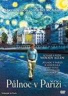 Midnight in Paris - Czech DVD movie cover (xs thumbnail)