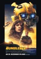 Bumblebee - German Movie Poster (xs thumbnail)