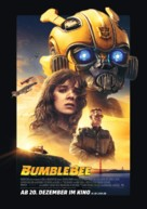 Bumblebee - German Movie Poster (xs thumbnail)
