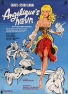 Merveilleuse Angélique - Danish Movie Poster (xs thumbnail)