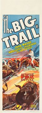 The Big Trail - Australian Movie Poster (xs thumbnail)