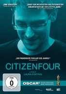 Citizenfour - German DVD cover (xs thumbnail)