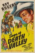 Saga of Death Valley - Re-release poster (xs thumbnail)