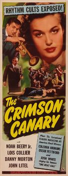 The Crimson Canary - Movie Poster (xs thumbnail)