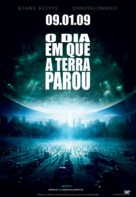 The Day the Earth Stood Still - Brazilian Movie Poster (xs thumbnail)