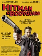 The Hitman's Bodyguard - French Movie Poster (xs thumbnail)