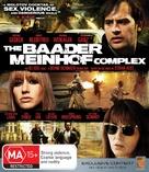 Der Baader Meinhof Komplex - Australian Blu-Ray movie cover (xs thumbnail)
