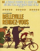 Les triplettes de Belleville - British Movie Cover (xs thumbnail)