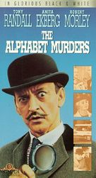 The Alphabet Murders - VHS cover (xs thumbnail)