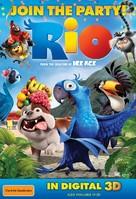 Rio - Australian Movie Poster (xs thumbnail)