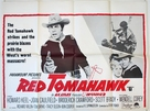 Red Tomahawk - British Movie Poster (xs thumbnail)