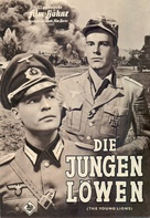 The Young Lions - German poster (xs thumbnail)