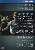 The Social Network - Portuguese DVD movie cover (xs thumbnail)
