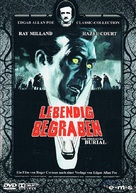 Premature Burial - German DVD movie cover (xs thumbnail)