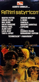 Fellini - Satyricon - Italian Movie Poster (xs thumbnail)
