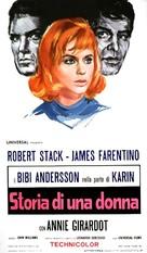 Storia di una donna - Italian Movie Poster (xs thumbnail)