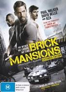 Brick Mansions - Australian DVD movie cover (xs thumbnail)