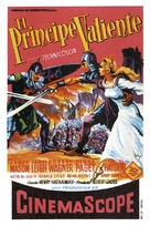 Prince Valiant - Spanish Movie Poster (xs thumbnail)