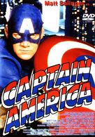 Captain America - DVD cover (xs thumbnail)