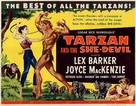 Tarzan and the She-Devil - Movie Poster (xs thumbnail)