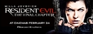 Resident Evil: The Final Chapter - British Movie Poster (xs thumbnail)