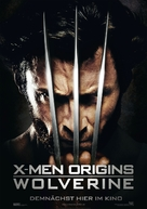 X-Men Origins: Wolverine - German Movie Poster (xs thumbnail)