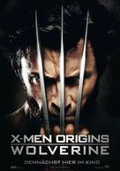 X-Men Origins: Wolverine - German Movie Poster (xs thumbnail)