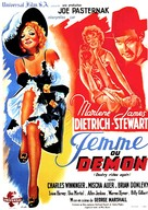 Destry Rides Again - French Movie Poster (xs thumbnail)