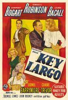 Key Largo - Australian Movie Poster (xs thumbnail)