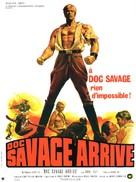 Doc Savage: The Man of Bronze - French Movie Poster (xs thumbnail)