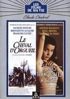 Jours tranquilles à Clichy - French DVD cover (xs thumbnail)