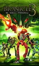 Bionicle 3: Web of Shadows - Polish VHS cover (xs thumbnail)