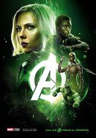 Avengers: Infinity War - Italian Movie Poster (xs thumbnail)