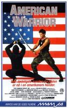 American Ninja - Norwegian VHS cover (xs thumbnail)