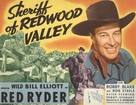 Sheriff of Redwood Valley - Movie Poster (xs thumbnail)